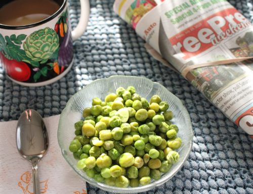 peas for breakfast